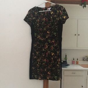 Fitted floral dress!